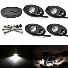 4X CREE LED Rock White Light JEEP ATV 4x4 Off-Road Truck Trail Fender Lighting