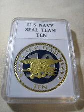 US NAVY SEAL TEAM TEN Challenge Coin