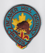 SCOUT OF CANADA - CANADIAN SCOUTS ALBERTA (ALTA) BEAVER HILL DISTRICT Patch
