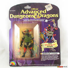 D&D Advanced Dungeons & Dragons Grimsword Evil Knight by LJN TSR carded - worn