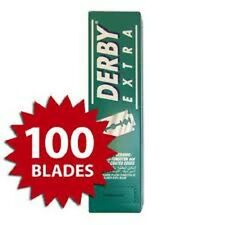 Derby Extra  Platinum Coated Double Edge Razor Blades 100 pcs USA SELLER