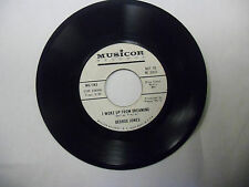 George Jones I'm A People/I Woke Up From Dreaming 45 RPM Musicor VG