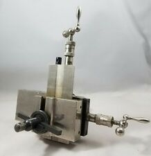 Boley Cross Slide Watchmakers Lathe Attachment