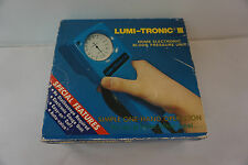 Lumi-Tronic III Blood Pressure Test Kit Do It Yourself One Hand Use pump travel
