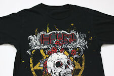 Sz M/S HIM VENUS DOOM His Infernal Majesty Finnish Rock Heartagram Skull T-Shirt