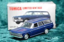 [TOMICA LIMITED VINTAGE LV-21b 1/64] TOYOPET CROWN WAGON (Navy)