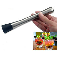 Cocktail Muddler Bar Mixer Masher Barware Bartending Tool DIY Drink Stirring Rod
