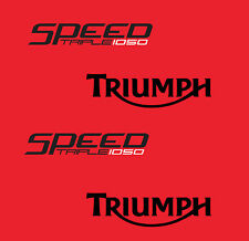 TRIUMPH SPEED TRIPLE 1050 (2010) STICKER DECAL MOTO