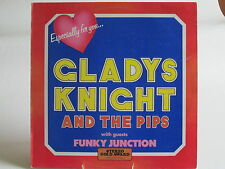 "Gladys Knight & The Pips + Funky Junction - Compilation LP 12"" 33rpm Vinyl 1975"