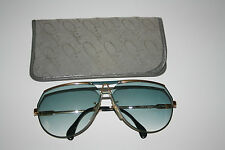 Occhiali da sole Cazal GERMANY 953 Occhiali Lunettes occhiali 135mm GLASSES GOLD