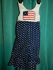 Just Ducky 1 Piece Outfit~American Flag Print~Size 12 MO~Free Shipping!