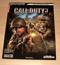 Call of Duty 3 - Official Strategy Guide - Bradygames ( Activision Lösungsbuch )