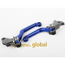 Pivot Clutch Brake Levers For Yamaha WR250R WR250X 2007-2016 Blue CNC