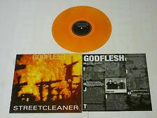 """Godflesh """"Streetcleaner"""" Orange Vinyl - NEW Ltd to 500 Copies!"""