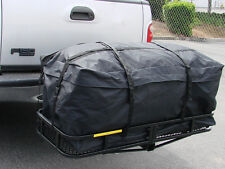 "45"" Expendable Cargo Carrier Bag Hitch Mount Roof Rack Luggage Water-Resistant"