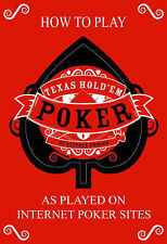 How to Play Texas Hold'em Poker, Godson, Stephen, New Book