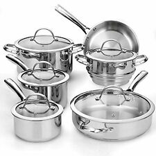 Cooks Standard Classic COOKING SET, 11 Piece Stainless Steel COOKWARE SET