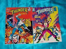 T.H.U.N.D.E.R. AGENTS: Volume 2, # 1 & 2, 1983-84, Very Fine Condition