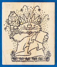Cat Statue of Liberty Rubber Stamp - Patriotic, Independence Day, Fourth of July