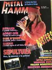 METAL HAMMER 12 1993 Guns N'Roses Metallica Sepultura Little Angels Mötley Crüe