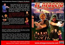 EL NEGOCIO MOVIE KENPO KARATE DVD LARRY TATUM TIM BULOT ED PARKER KENPO KARATE