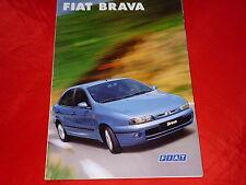 FIAT Brava SX HSX ELX Prospekt von 10/1998