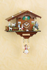 Schaukeluhr Black Forest Swinging doll clock Heidi MADE in GERMANY 281SQ