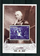 Micronesia 2005 MNH Battle of Trafalgar 200th 1v S/S Nelson Collingwood Stamps