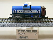 Fleischmann 5436 K Kesselwagen RÜCKFORTH Privatbahn Sonderwagen