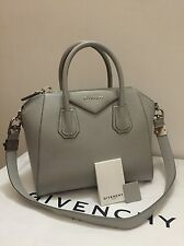 GIVENCHY  AUTHENTIC   TOTE ANTIGONA HAMMERED LIGHT GREY SMALL  SIZE PURSE TASCHE