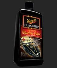 Meguiars M6332 Car Wax; Flagship Premium Marine Wax; Liquid; 32 Ounce Bottle