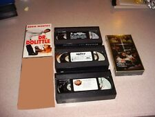 VHS DR DOLITTLE NUTTY PROFESSOR SPY WHO SHAGGED ME FATAL PASSION  JESUS