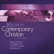 16 Great Contemporary Christian Classics, Vol. 3 by V/A (CD, May-2004) Mint
