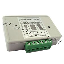 3A Solar Charge Controllers 12/24 Volts Regulator Battery PWM Charging Off Grid