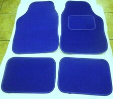 BLUE CAR MATS INTERIOR CARPET MATS FOR BMW E30 E36 E46 E39 E87 318i Z1 Z3 M3
