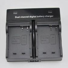 Dual Battery Charger for Panasonic DMW-BLC12e DMC-G7GK DMC-G7KGK DMC-FZ300GKK