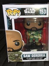 FUNKO POP Star Wars SAW GERERRA Walmart Exclusive ROGUE ONE Vinyl Figure