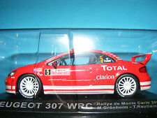 Peugeot 307 WRC  RALLY Car  Product in 1:43rd. Scale