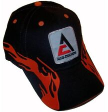 Allis Chalmers Tractor 6 Panel Black Flame Hat - Cap Fits Most