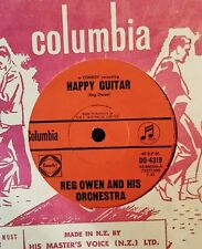 45rpm single - Reg Owen - Happy Guitar/Shanty Town Blues (M-)