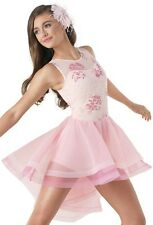 NEW ICE SKATING DANCE BATON DRESS COSTUME COMPETITION CHILD ADULT LYRICAL