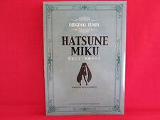 Miku Hatsune Original Tunes Piano Sheet Music Collection Book