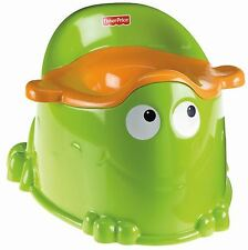 NEW! Fisher-Price Froggy Toddler Toilet Training Potty with Fun Animal Design