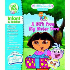 NEW LEAPFROG LITTLE TOUCH LEAPPAD BOOK & CARTRIDGE A GIFT FROM BIG SISTER DORA