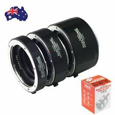 AU Macro AF Auto Focus Automatic Extension Tube Metal Bayonet For Canon EF Lens