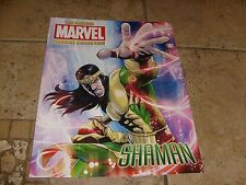 SHAMAN 187 Eaglemoss Lead Comic Bio Fact Files MARVEL MAGAZINE NO FIGURE