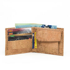 CORK WALLET BIFOLD VEGAN GIFT MEN'S