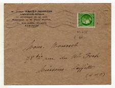 A4785) FRANCE 1945 Cover Paris Maisons Laffitte