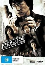 Jackie Chan's New Police Story (2 Disc Edition) DVD Region 4 (VG Condition)
