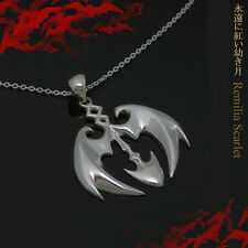 Touhou Project Remilia Scarlet Gungnir Vampire Necklace Accessories 925 Silver